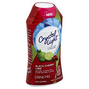 Crystal Light Liquid Black Cherry Lime Drink Mix