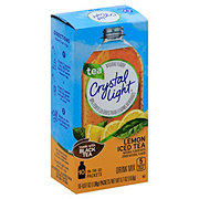 Crystal Light On The Go Natural Lemon Iced Tea Drink Mix