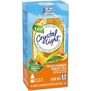 Crystal Light On The Go Tea Metabolism+ Peach Mango Green Tea Drink Mix