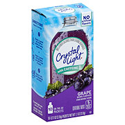 Crystal Light On The Go with Caffeine Grape Drink Mix