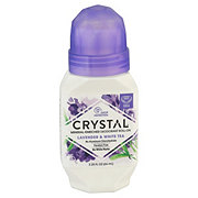 Crystal Roll-On Essence Lavender and White Tea Hypoallergenic Mineral Deodorant