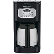 Cuisinart Black 10-Cup Programmable Thermal Coffee Maker