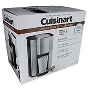 Cuisinart Compact Single Serve Stainless Black Coffee Maker