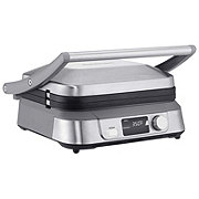 Cuisinart Griddler Five With LCD Screen Stainless Steel
