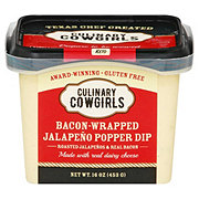 Culinary Cowgirls Bacon Wrapped Jalapeno Popper Dip