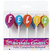 Culpitt Feliz Cumpleanos Birthday Candles