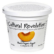 Cultural Revolution Kalona Supernatural 5% Organic Peach Yogurt
