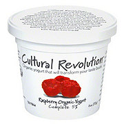 Cultural Revolution Kalona Supernatural 5% Organic Raspberry Yogurt