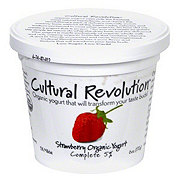 Cultural Revolution Kalona Supernatural 5% Organic Strawberry Yogurt