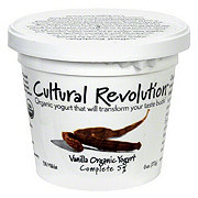 Cultural Revolution Kalona Supernatural 5% Organic Vanilla Yogurt