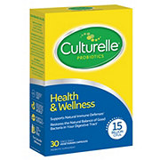Culturelle Health and Wellness Immunity Support Formula Probiotic Capsules