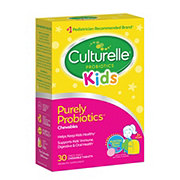 Culturelle Natural Bursting Berry Flavor Kids Chewable Probiotic Tablets