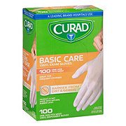 Curad Basic Care Vinyl Exam Gloves