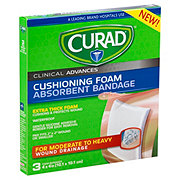 Curad Cushioning Foam Absorbent Bandage