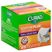 Curad Soothplus Small Gauze Pad
