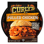 Curly's Pulled Chicken with Sauce