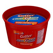 Cutter Citro Guard Red Ceramic Citronella Candle