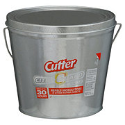 Cutter Citro Guard Silver Bucket Candle
