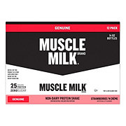 CytoSport Muscle Milk Strawberries 'n Creme Nutritional Shake, 14 oz bottles