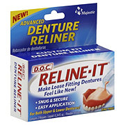 D.O.C. Reline-It Custom Fit Denture Reliner