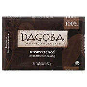 Dagoba Chocolate Unsweetened Baking Bar