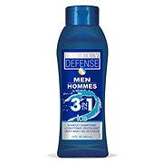 Daily Defense Men 3 in 1 Body Wash Shampoo & Conditioner, Ice
