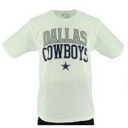 Dallas Cowboys Men's White Pro Set 2 T-Shirt