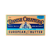Danish Creamery Unsalted European Style Butter