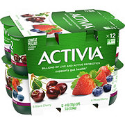 Dannon Activia Black Cherry Mixed Berry