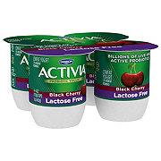 Dannon Activia Lactose Free Black Cherry
