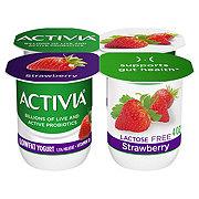 Dannon Activia Lactose Free Strawberry