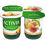 Dannon Activia Low-Fat Peach Yogurt