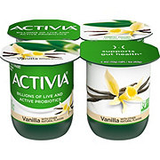 Dannon Activia Low Fat Vanilla Yogurt