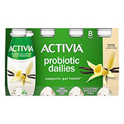 Dannon Activia Probiotic Dailies Low-Fat Vanilla Yogurt Drink 3.1 oz Bottles
