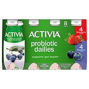 Dannon Activia Probiotic Dailies Strawberry Blueberry Flavor
