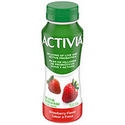 Dannon Activia Strawberry Probiotic Dairy Drink