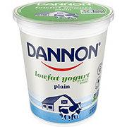 Dannon All Natural Low Fat Plain Yogurt
