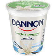 Dannon All Natural Low Fat Vanilla Yogurt