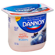 Dannon Blueberry Whole Milk Yogurt