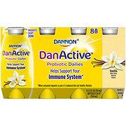 Dannon DanActive Vanilla Probiotic Dairy Drink 3.1 oz Bottles