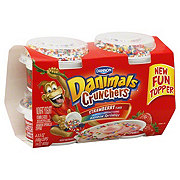 Dannon Danimals Crunchers Nonfat Strawberry Yogurt Flavor With Rainbow Sprinkles