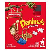 Dannon Danimals Squeezables Low-Fat Strawberry Explosion Yogurt