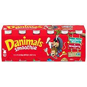 Dannon Danimals Strawberry & Strawberry-Kiwi Smoothie 3.1 oz Bottles Value Pack