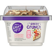 Dannon Light & Fit Greek Crunch Non-Fat Strawberry Cheesecake Yogurt