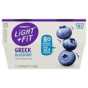 Dannon Light & Fit Non-Fat Blueberry Greek Yogurt