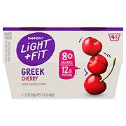 Dannon Light & Fit Non-Fat Cherry Greek Yogurt