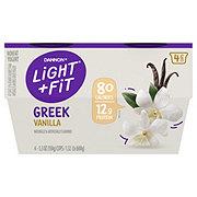 Dannon Light & Fit Non-Fat Vanilla Greek Yogurt