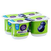 Dannon Light And Fit Zero Blueberry Yogurt