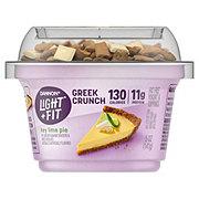 Dannon Light & Fit Greek Crunch Non-Fat Key Lime Pie Greek Yogurt