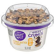 Dannon Light & Fit Greek Crunch Non-Fat Peanut Butter Delight Greek Yogurt